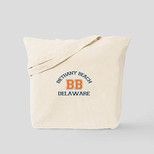 Bethany Beach - Varsity Design Tote Bag