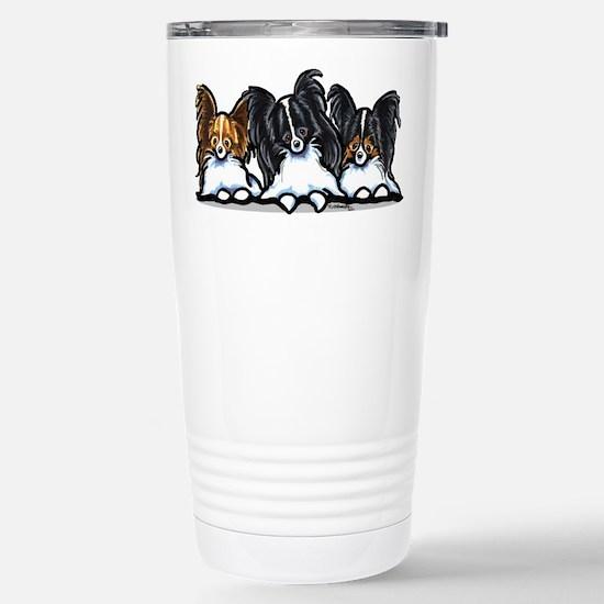 Papillon Lover Stainless Steel Travel Mug
