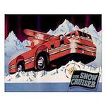 Snow Cruiser Small Poster