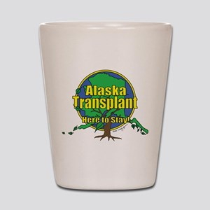 Alaska Transplant Shot Glass