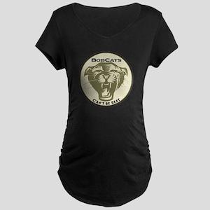 Bobcats Maternity Dark T-Shirt