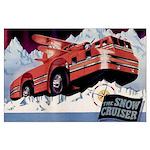 Snow Cruiser Large Poster