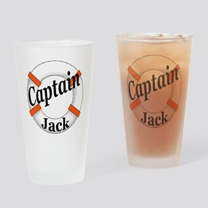 Captain Jack Drinking Glass
