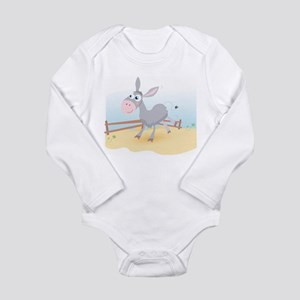 Dancing Donkey - Long Sleeve Infant Bodysuit