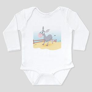 Dancing Donkey - Long Sleeve Infant Bodysuit