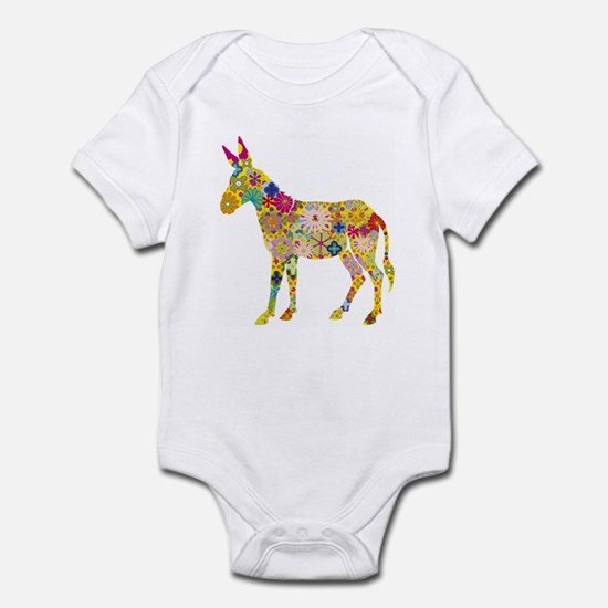 Flower Donkey - Infant Bodysuit