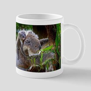 Baby Koala Bear with mom Mugs