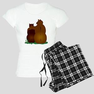Warm & Fuzzy Bear Hug Women's Light Pajamas