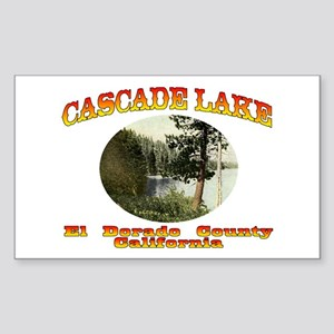 Cascade Lake Sticker (Rectangle)