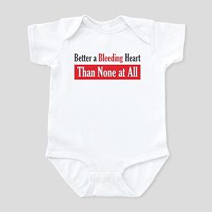 Bleeding Heart Infant Creeper