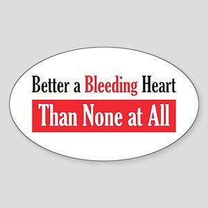 Bleeding Heart Oval Sticker