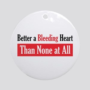 Bleeding Heart Ornament (Round)