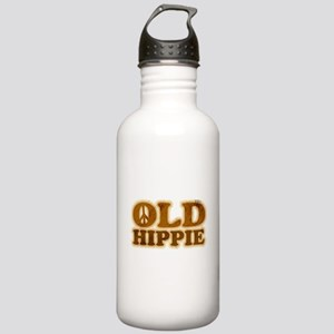 Old Hippie Peace Stainless Water Bottle 1.0L