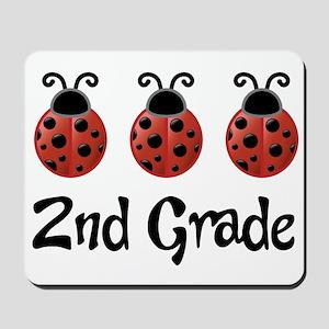 2nd Grade School Ladybug Mousepad