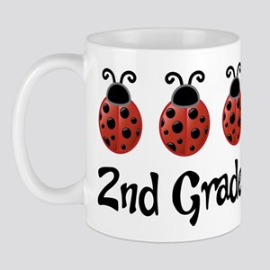 2nd Grade School Ladybug Mug