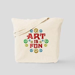 Art is Fun Tote Bag