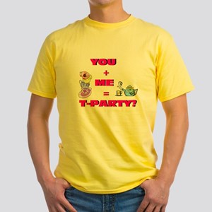 """""""T-Party?"""" Yellow T-Shirt"""