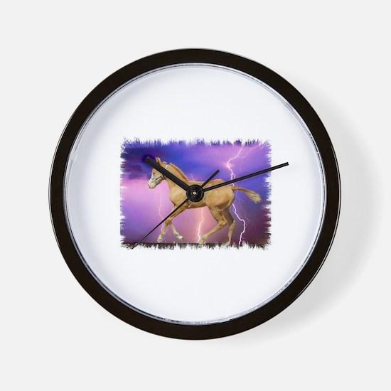 Cool Palomino Wall Clock