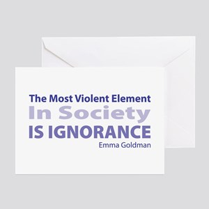 Violent Element Greeting Cards (Pk of 10)