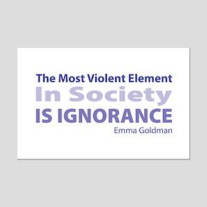 Violent Element Mini Poster Print
