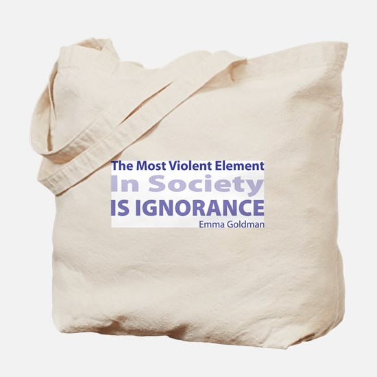 Violent Element Tote Bag