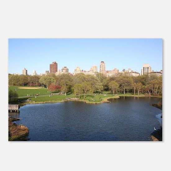 Spring in Central Park, New York Postcards (Packag