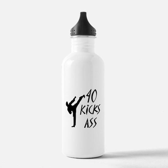 Cute Kicks ass Water Bottle