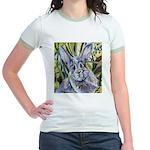 Somebunny to Love Jr. Ringer T-Shirt