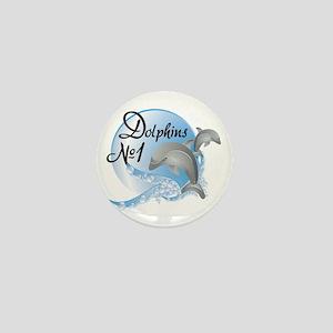 Dolphins Mini Button