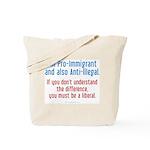Pro-Immigrant Tote Bag