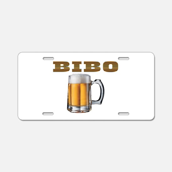BEER IS TASTY Aluminum License Plate