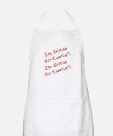 The British Are Coming! Apron