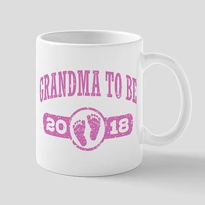 Grandma To Be 2018 11 oz Ceramic Mug