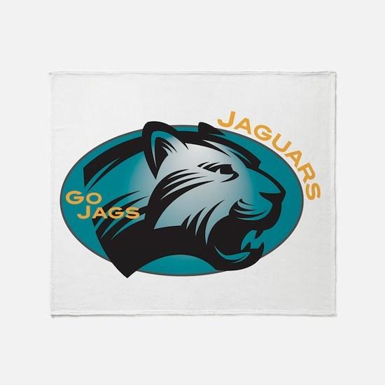 Jaguars Throw Blanket