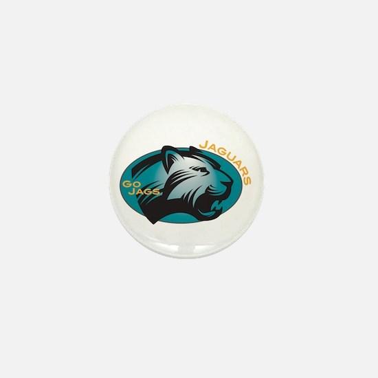 Jaguars Mini Button