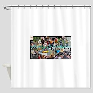 Wheelz Shower Curtain