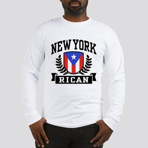 New York Rican Long Sleeve T-Shirt