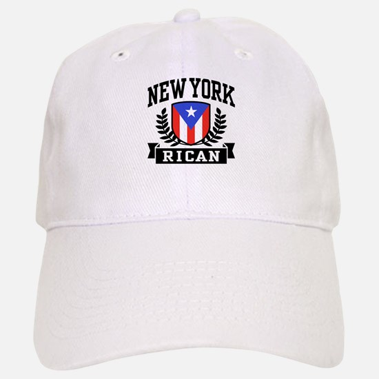 New York Rican Baseball Baseball Cap