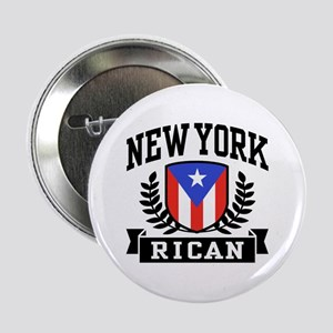 "New York Rican 2.25"" Button"