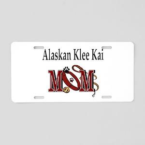 Alaskan Klee Kai Aluminum License Plate