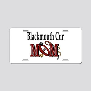 Blackmouth Cur Aluminum License Plate