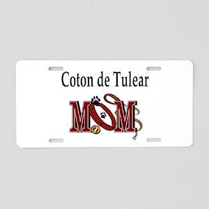 Coton de Tulear Aluminum License Plate