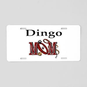 Dingo Dog Mom Aluminum License Plate