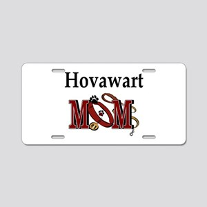 Hovawart Mom Gifts Aluminum License Plate