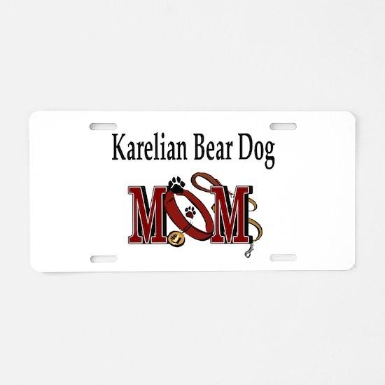 Karelian Bear Dog Aluminum License Plate