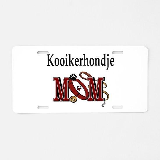 Kooikerhondje Aluminum License Plate