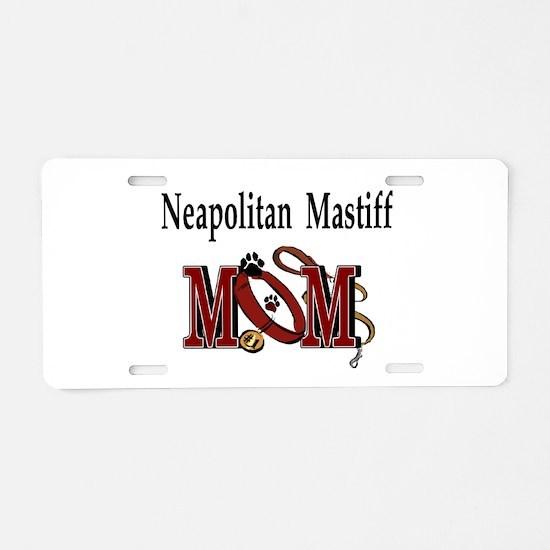 Neapolitan Mastiff Gifts Aluminum License Plate