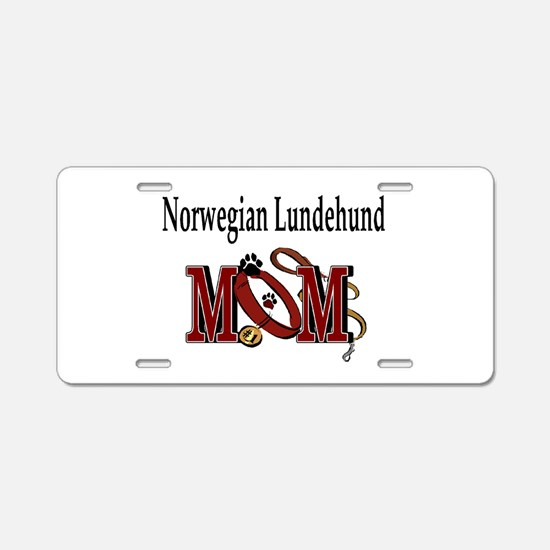 Norwegian Lundehund Aluminum License Plate