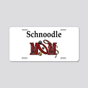 Schnoodle Mom Aluminum License Plate