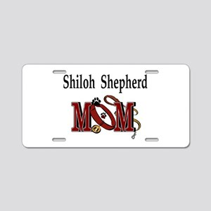 Shiloh Shepherd Mom Aluminum License Plate